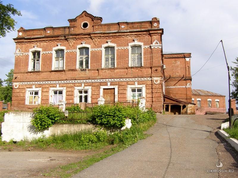 Здание бывшего училища для глухонемых