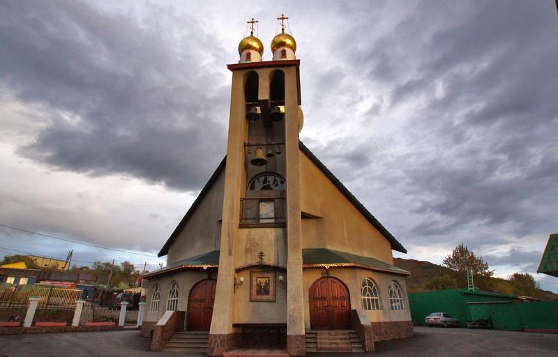 Церковь Петра и Павла. Камчатка