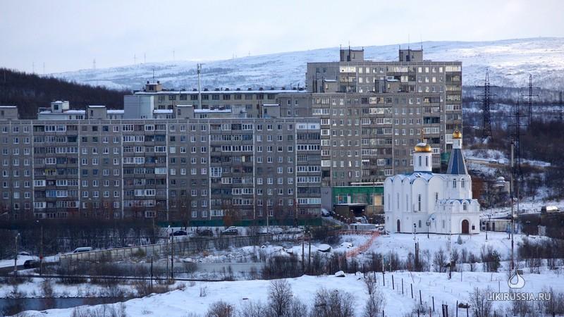 Церковь Спаса-на-водах.Мурманск
