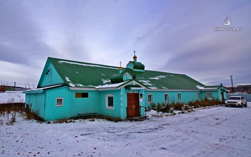 Храм преподобного Трифона Печенгского
