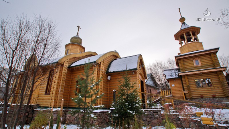 Церковь Введения во храм Пресвятой Богородицы. Мурманск